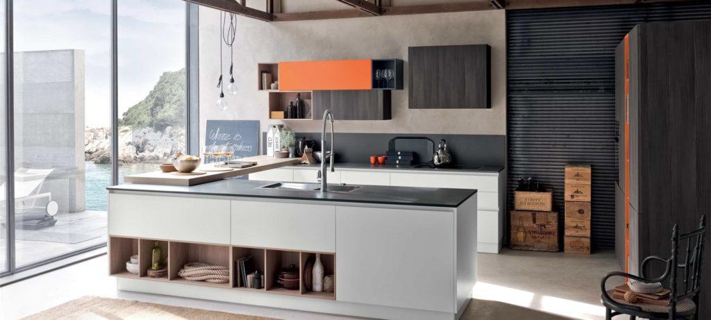 Cucine Moderne Colorate. Sedie Cucina Moderne With Cucine Moderne ...